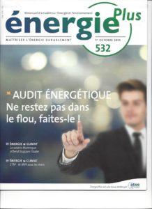 PAGE COUVERTURE ENERGIE PLUS 532