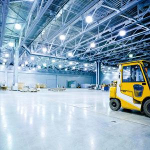 Eclairage performant en industrie